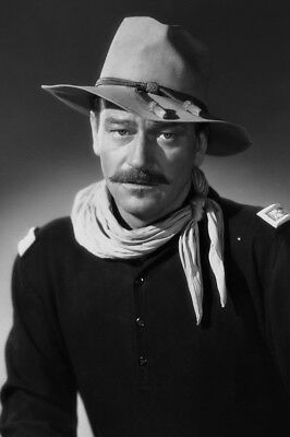 Rio Grande John Wayne Striking Studio Pose In Cavalry Uniform Large Poster