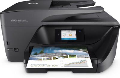 Multifunktion Tinte HP OfficeJet Pro 6970 AiO Fax LAN Wifi