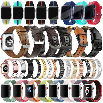 VARIOUS Band Replacement Wrist Strap Bracelet For Apple Watch Series 4 40mm 44mm
