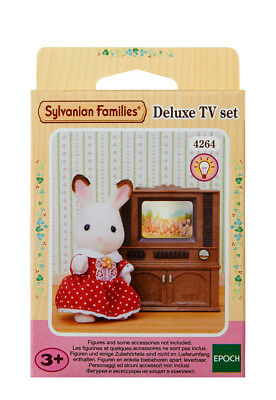 Sylvanian Families Furniture & Accessories 4264 Deluxe Tv Set /Age 3+