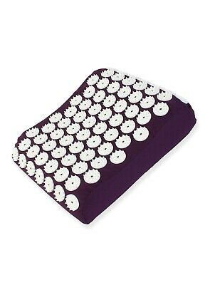 White Lotus Acupressure Pillow Bed of Nails - Made in EU- Acupressure at home