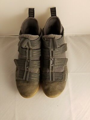 low priced 6ece4 a6c71 Nike Lebron Soldier XI SFG Men s Basketball Shoes Dark Grey 897646 003 Size  9