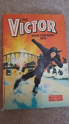 The Victor Book for Boys, 1979 - D. C. Thomson 1978-01-01  D.C. Thomson