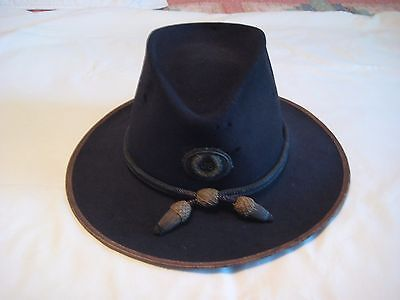 Civil War Officers Slouch Hat ~ Original