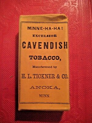 Unopened Package Of Cavendish Smoking Tobacco