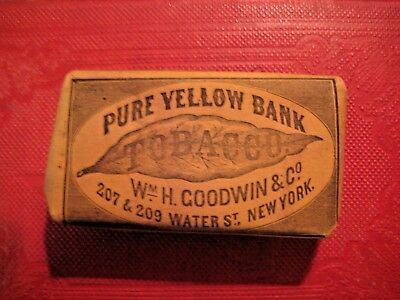 Original Unopened Period Smoking Tobacco