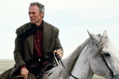 Clint Eastwood Unforgiven On Horseback 24X36 Premium Quality Poster