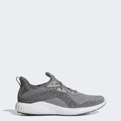 Mens Adidas Alphabounce HPC AMS Grey Running Athletic Sport Shoes Size 10.5 c663722aa