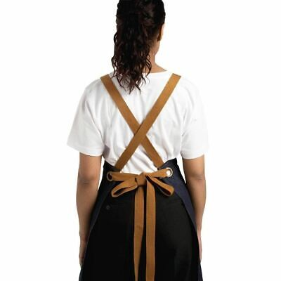 Whites Chefs Apparel X-Cross Back Apron 700x1000mm | Kitchen