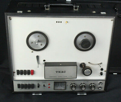 Vintage 1966 TEAC R-100 Reel-to-Reel Tape Recorder wAutomatic Reverse - AS-IS