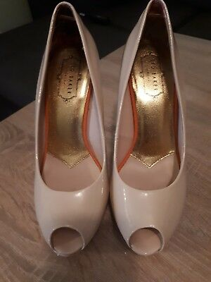 Ted Baker High Heels Shoes, Size 5, Beige