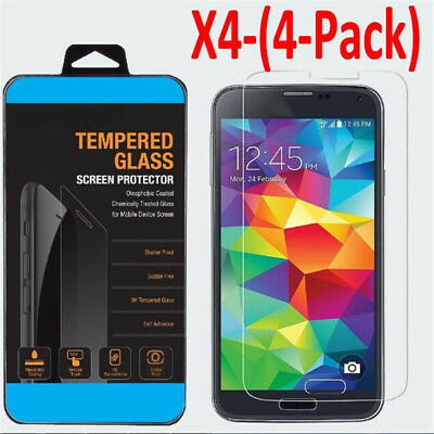 2/4x Tempered Glass Protective Screen Protector Film for Samsung Galaxy S5 S6 Cn