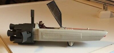 1978 Battlestar Galactic Colonial Viper with pilot and missile