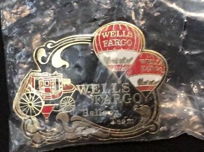 "2018 AIBF ""Wells Fargo"" Balloon Team Pin , NEW!"