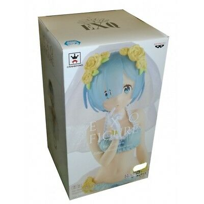Banpresto Re Life In Different World From Zero Rem Exq Pvc Figure