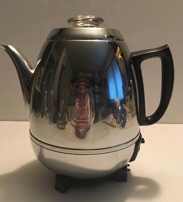 Vintage Collectible Ge General Electric Automatic Percolator Coffee Maker 58P40