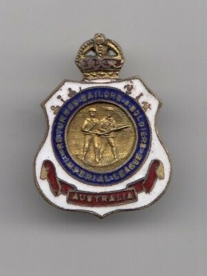 Military Australian Army Returned Services League Rsl Members Badge ( # 9011 S )