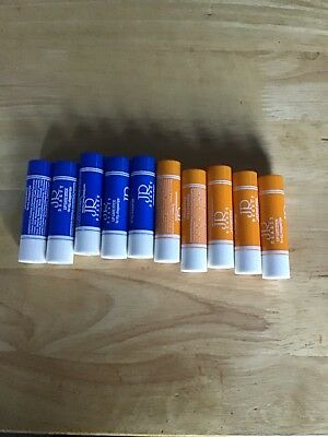 10 Jr Beauty Lip Care Balm Stick Gloss Clearance New