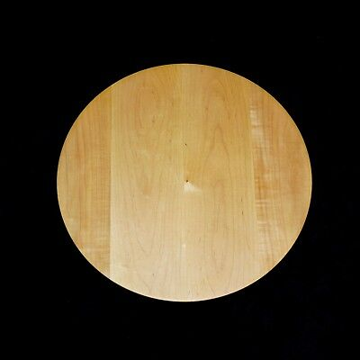 Hand Turned Wooden Lazy Susan, Soild Maple Hardwood, Made In Usa!
