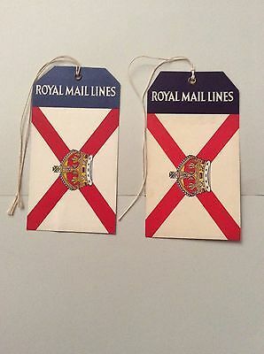 Shipping line, Royal Mail,Luggage Lables