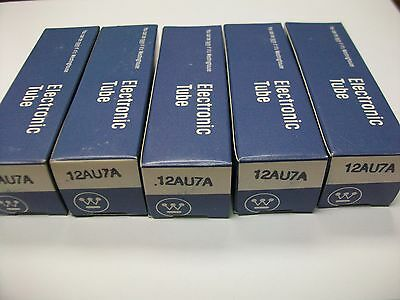Sleeve Of 5 Nos Westinghouse 12Au7A Tubes