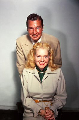 Alice Faye Phil Harris Color Pose 24X36 Premium Quality Poster