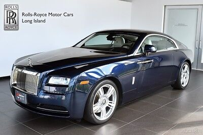 2015 Rolls-Royce Wraith (Certified Pre-Owned) Front Ventilated & Massage Seats - Seat Piping - Polished Stainless Steel Pckg