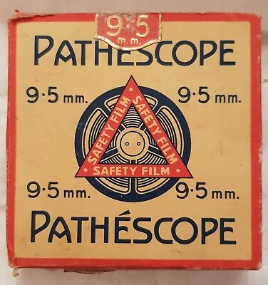 Vintage PATHESOPE 9.5mm FETCH THE MOUNTIES 30193 Silent Movie FIlm 1927