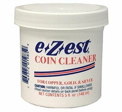 E*Z*EST Coin Cleaner 5oz. jar Qty = 1 Jar