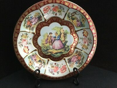 Vintage Bowl, Daher Decorated Ware, Made in England, Tin Dish, French Colonial