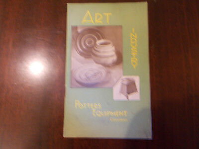 ART INDUSTRY.POTTERS EQUIPMENT COMPANY CATALOGUE with TWO LETTERS DATED 191950.