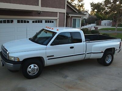 1998 Dodge Ram 3500 SLT 1998 Dodge Ram 3500 Dully long bed
