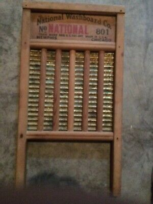 National Washboard Co 801