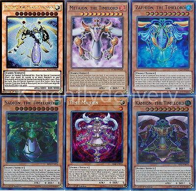 Z-one Complete Deck - Metaion - Sadion - Kamion - Timelord - 40 Cards - Yugioh