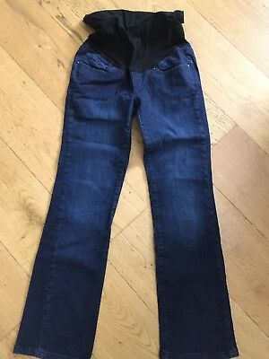 Blooming Marvellous Maternity Jeans Size 10 Denim Over The Bump