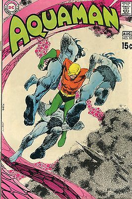 AQUAMAN Comic.  #52. VF(8). Includes a DEADMAN story by Neal Adams.