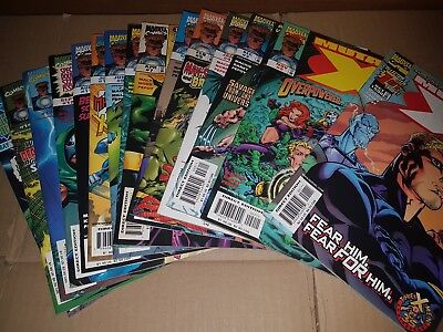MUTANT X # 1 to 13 & ANNUAL 1999 - Marvel Comics NM-