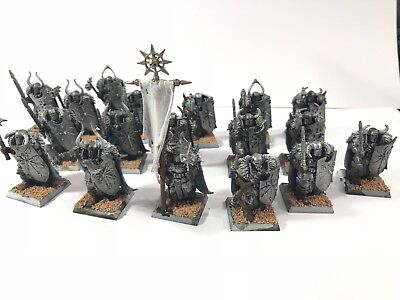 Warhammer Age of Sigmar/ Fantasy Chaos Warriors Regiment 18 Stk!