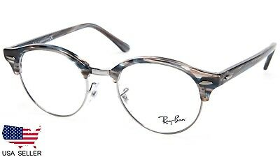 722bf7e1b8e NEW Ray Ban RB4246-V 5750 BLUE  GREY STRIPED EYEGLASSES FRAME 4246 47-