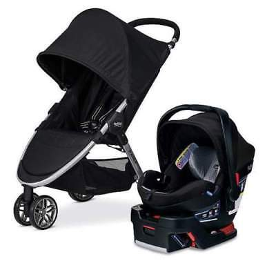 NEW Britax B-Agile 3 & B-Safe 35 Elite Travel System