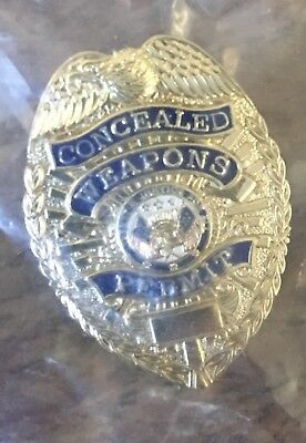 Concealed Weapons Permit Lapel Pin , Free Shipping