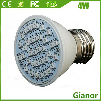 E27 4W LED Grow Light Bub For Plants Hydroponics Growing Lamp Indoor Vegs