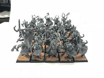 age of sigmar/ Fantasy Chaos Babaren Slaves to Darkness Games Workshop (35 Stk.)