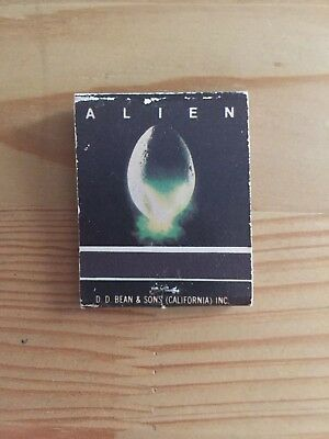 Original Matchbook From The First Alien Movie! Very Rare!