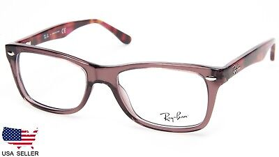 526699a12 NEW Ray Ban RB5228 5628 OPAL BROWN EYEGLASSES GLASSES RB 5228 50-17-140