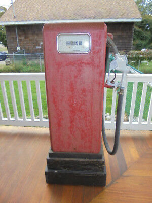 Vintage GAS BOY William Wilson Red Gas Station Pump Pick-up Only
