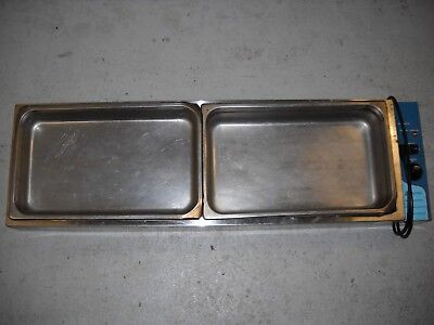 Baine-marie 6 or 2 pans countertop electric excellent condition!