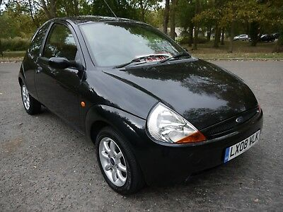 2008 Ford Ka 1.3 Duratec Climate 56K Very Low Miles Metallic Panther Black....