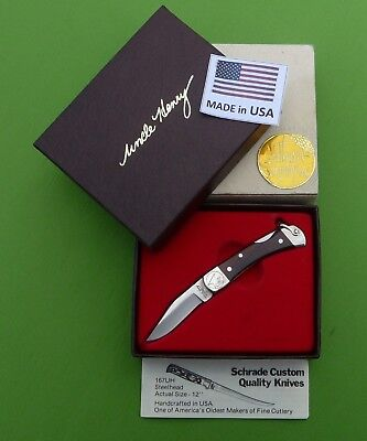"Schrade USA LB1 Uncle Henry ""CUB"" Lockback Knife in Box"
