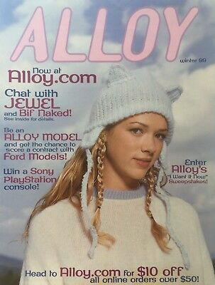 Winter 1999 ALLOY Teen Girls Fashion Catalog
